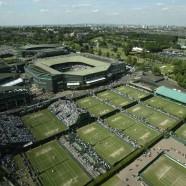 Lesley speelt Wimbledon