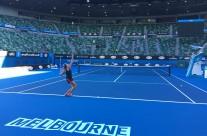 Lesley naar tweede ronde Melbourne