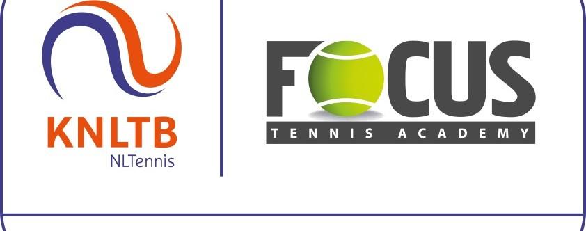 """FOCUS tennis academy """"certified partner"""" KNLTB"""
